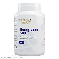 Betaglucan 500 + Vit C + Zink, 90 ST, Vita World GmbH