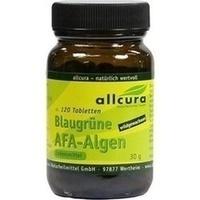 AFA Algen Tabletten blaugrün a250mg, 500 ST, Allcura Naturheilmittel GmbH