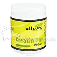 Kreatin Pur Premium Qualität, 500 G, Allcura Naturheilmittel GmbH