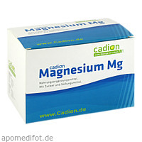 CADION Magnesium Mg Beutel, 50X6.25 G, Cadion As Vertriebs GmbH