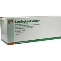 Lenkelast color grün 8cmx5m lose, 10 ST, Lohmann & Rauscher GmbH & Co. KG