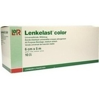 Lenkelast color rot 6cmx5m lose, 10 ST, Lohmann & Rauscher GmbH & Co. KG