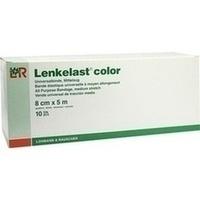 Lenkelast color rot 8cmx5m lose, 10 ST, Lohmann & Rauscher GmbH & Co. KG