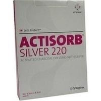 ACTISORB 220 SILVER 9.5x6.5cm steril, 10 ST, kohlpharma GmbH