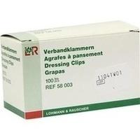 VERBANDKLAMMERN WEISS, 100 ST, Lohmann & Rauscher GmbH & Co. KG