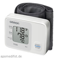 OMRON RS1 Handgelenk Blutdruckmessgerät, 1 ST, Hermes Arzneimittel GmbH