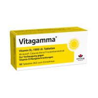 Vitagamma Vitamin D3 1000 I.E.Tabletten, 50 ST, Wörwag Pharma GmbH & Co. KG