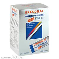 Magnesium Direkt 400mg Grandelat, 40 ST, Dr. Grandel GmbH