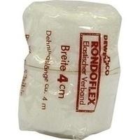RONDOFLEX BINDE WEISS 4CM, 1 ST, DEWE+CO Verbandstoff-Fabrik Dr. Wüsthoff & Co.