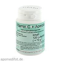 Vitamin C + Acerola, 120 ST, Endima Vertriebsgesellschaft mbH