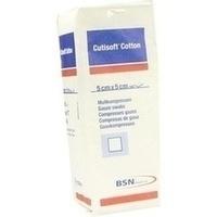 Cutisoft Cotton Kompressen 5x5cm, 100 ST, Bsn Medical GmbH