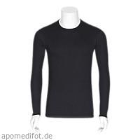 Neurodermitis Silberhemd schwarz M Langarm, 1 ST, Bestsilver GmbH & Co. KG