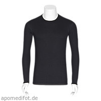 Neurodermitis Silberhemd schwarz L Langarm, 1 ST, Bestsilver GmbH & Co. KG