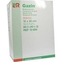 GAZIN Mullkompresse 10x20cm 12fach steril, 40X2 ST, Lohmann & Rauscher GmbH & Co. KG
