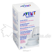 AVENT Saugerpackung steril, 2 ST, Philips GmbH