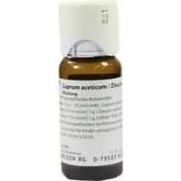 Cuprum aceticum/Zincum valerianicum, 50 ML, Weleda AG
