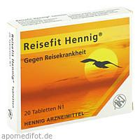 Reisefit Hennig, 20 ST, Hennig Arzneimittel GmbH & Co. KG