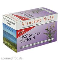 H&S Sennesblätter N, 20X1.0 G, H&S Tee - Gesellschaft mbH & Co.