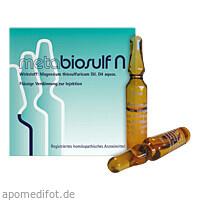 METABIOSULF N INJEKTIONSLÖSUNG, 5X2 ML, Meta Fackler Arzneimittel GmbH
