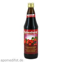 Rabenhorst Cranberry-Muttersaft, 700 ML, Haus Rabenhorst O. Lauffs GmbH & Co. KG