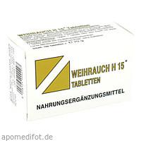 WEIHRAUCH-H15 Tabletten, 100 ST, Bios Medical Services