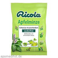 Ricola oZ Apfelminze, 75 G, Queisser Pharma GmbH & Co. KG
