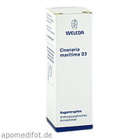 CINERARIA MARIT D 3, 10 ML, Weleda AG