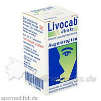 LIVOCAB direkt Augentropfen, 3 ML, Johnson & Johnson GmbH