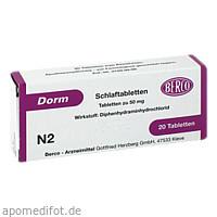 DORM, 20 ST, Berco-ARZNEIMITTEL