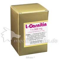 L-CARNITIN 1x500 mg Kapseln, 45 ST, Aalborg Pharma GmbH