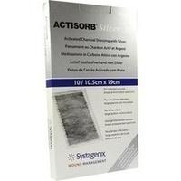 ACTISORB 220 SILVER 19x10.5cm steril, 10 ST, Emra-Med Arzneimittel GmbH