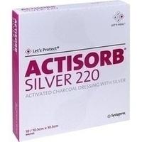 ACTISORB 220 SILVER 10.5x10.5cm steril, 10 ST, Emra-Med Arzneimittel GmbH