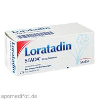Loratadin STADA 10mg Tabletten, 100 ST, STADA Consumer Health Deutschland GmbH