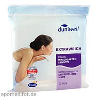 Duniwell Einmal Waschlappen sensitiv, 50 ST, Duni GmbH