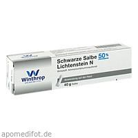 Schwarze Salbe 50% Lichtenstein N, 40 G, Zentiva Pharma GmbH