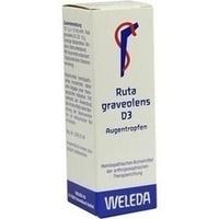 RUTA GRAVEOLENS D 3, 10 ML, Weleda AG