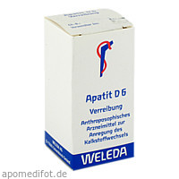 APATIT D 6, 20 G, Weleda AG