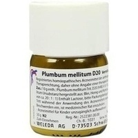 PLUMBUM MELLITUM D20, 50 G, Weleda AG