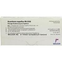 ACONITUM NAPELL RH D30, 8X1 ML, Weleda AG