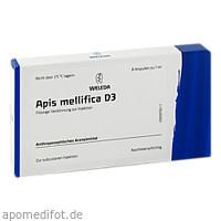 APIS MELLIFICA D 3, 8 ST, Weleda AG