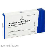 ARGENTUM MET PRAEP D30, 8 ST, Weleda AG