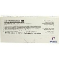 ARGENTUM NITR D20, 8X1 ML, Weleda AG