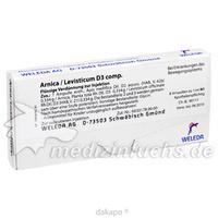 ARNICA/LEVIST D 3 COMP, 8 ST, Weleda AG