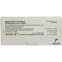 AURUM D10 COR D 4 AA, 8X1 ML, Weleda AG