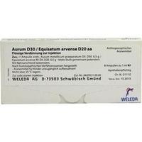 AURUM D30 EQU ARV D20 AA, 8X1 ML, Weleda AG