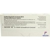 CARBO EQUISETI ARV D15, 8X1 ML, Weleda AG