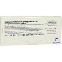 CUPRUM MET PRAEP D 6, 8X1 ML, Weleda AG