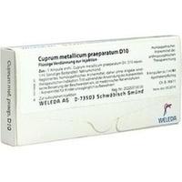 CUPRUM MET PRAEP D10, 8X1 ML, Weleda AG