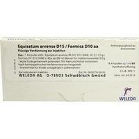 EQUISETUM ARV D15 FORM D10, 8X1 ML, Weleda AG