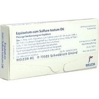 EQUISETUM C SULF TOST D 6, 8X1 ML, Weleda AG